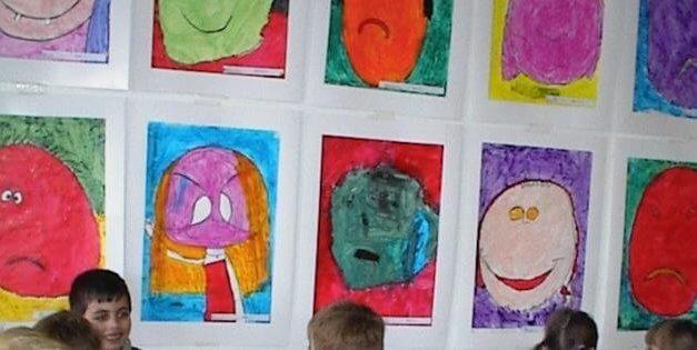 Små Picassoer – fernisering i indskolingen