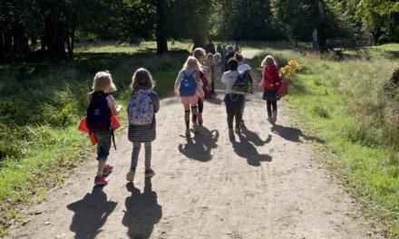 På skovtur med klassen