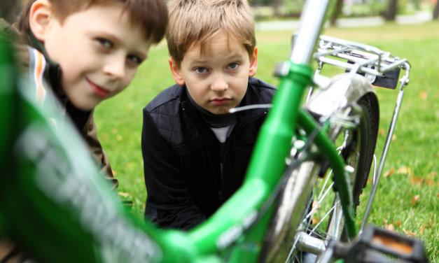 Gør cyklen køreklar og få et par hyggelige timer sammen