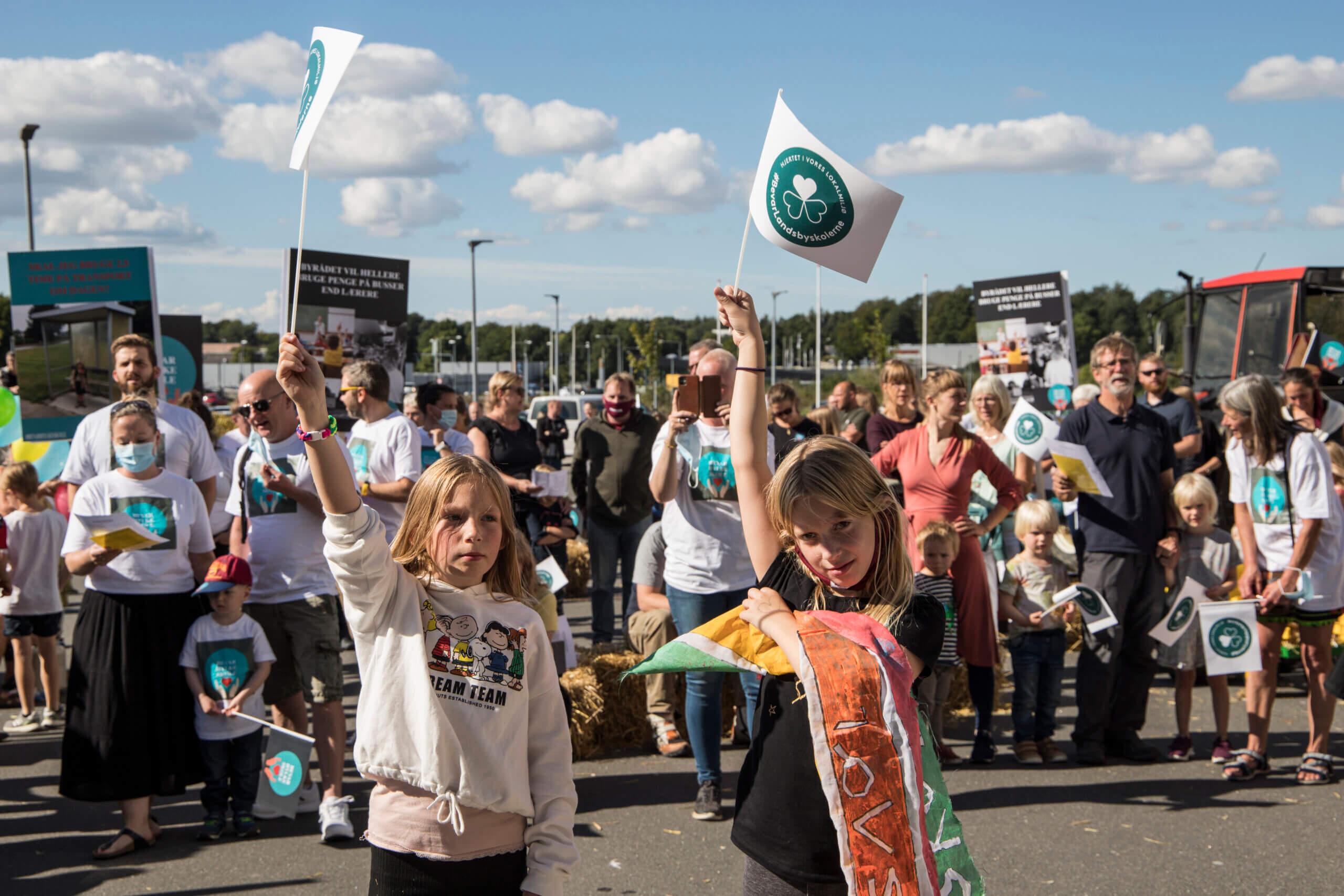 Demo mod skolelukning