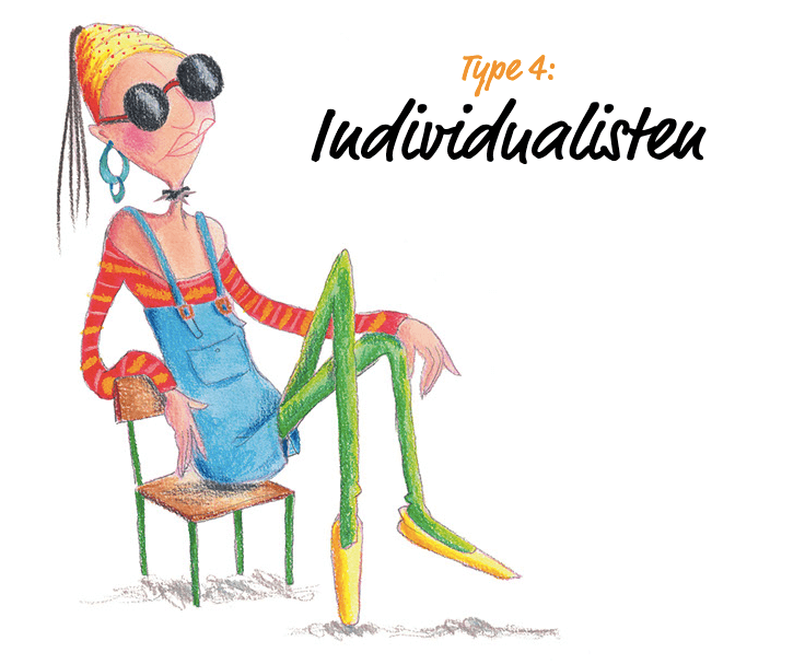 Illustration Individualisten