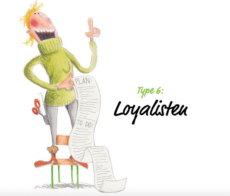 Illustration loyalisten