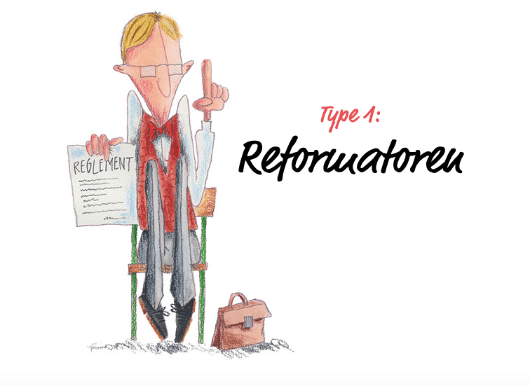 Illustration reformatoren